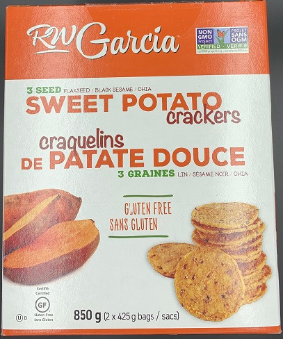 Costco RW Garcia Sweet Potato Crackers