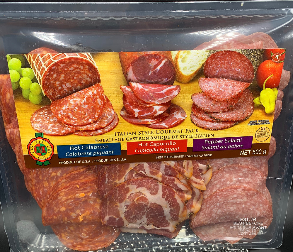 Gio Italian Style Gourmet Meat Pack