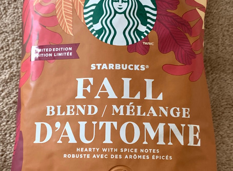 Costco Starbucks Limited Edition Fall Blend Coffee Beans Review