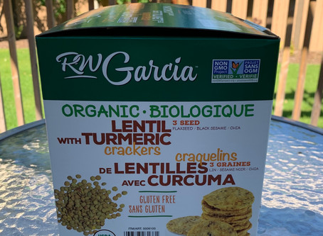 Costco RW Garcia Lentil with Tumeric Crackers Review