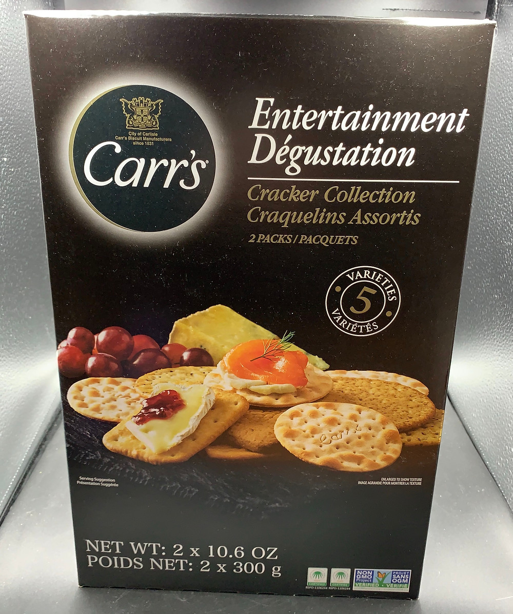 Costco Carr's Entertainment Cracker Collection