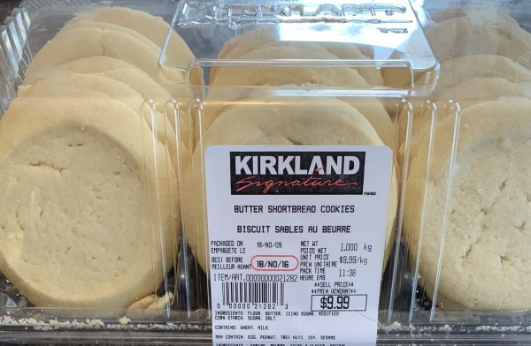 Costco Butter Shortbread Cookies
