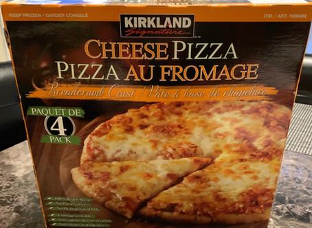 Costco Kirkland Signature Frozen Cheese Pizza Review