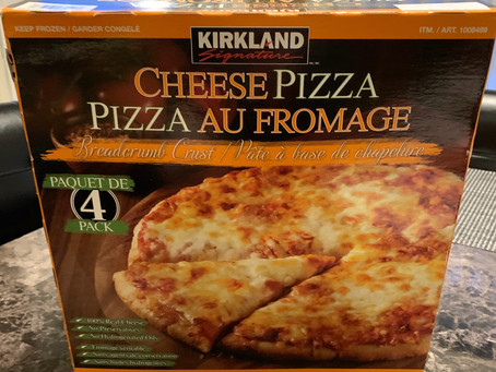 Costco Kirkland Signature Frozen Cheese Pizza Review