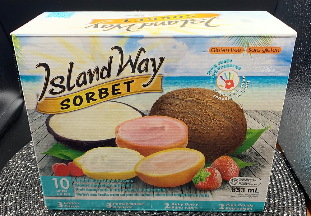 Costco Island Way Sorbet