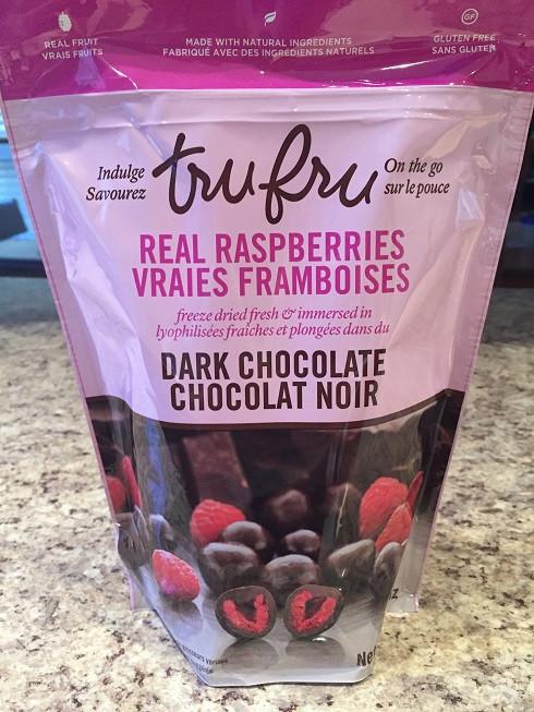 Costco Tru Fru Dark Chocolate Covered Raspberries