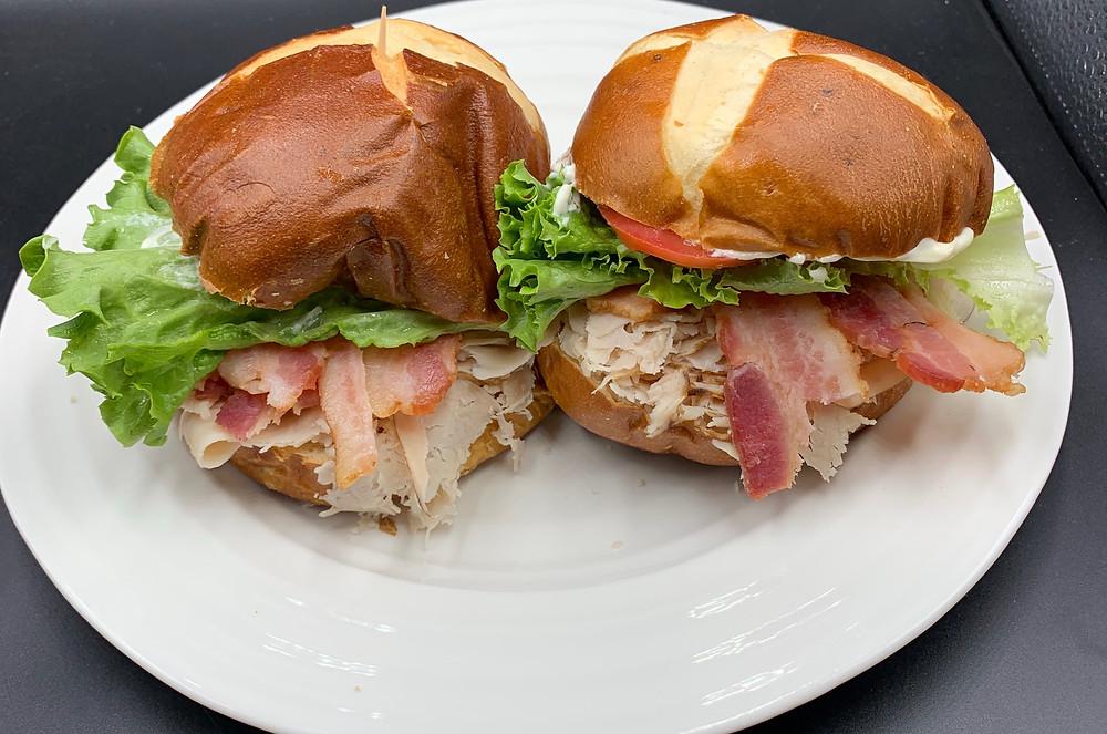 Costco Kirkland Signature Hormel Fully Cooked Bacon Turkey BLT I Made My Husband