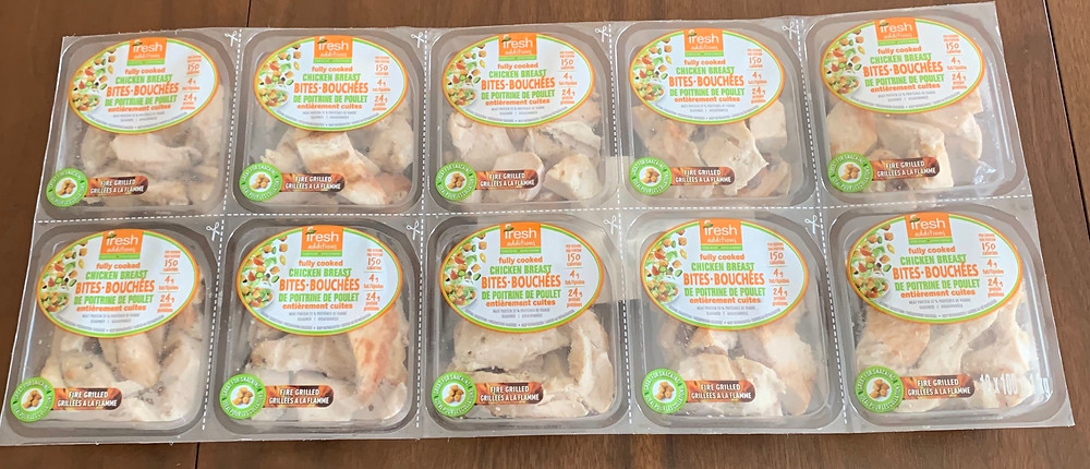 Costco Fresh Additions Fully Cooked Chicken Breast Bites
