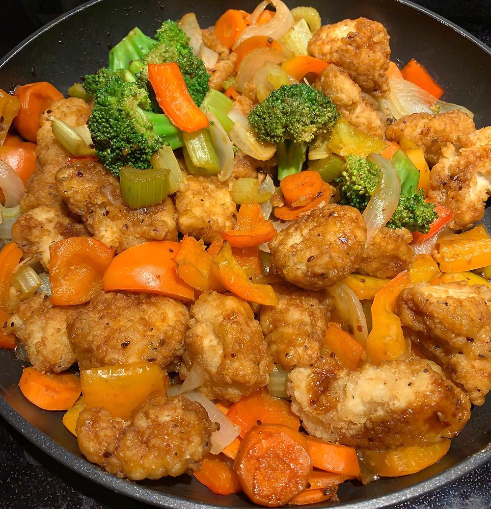 Costco Erie Meats Jumbo Chicken Breast Bites Stir Fry