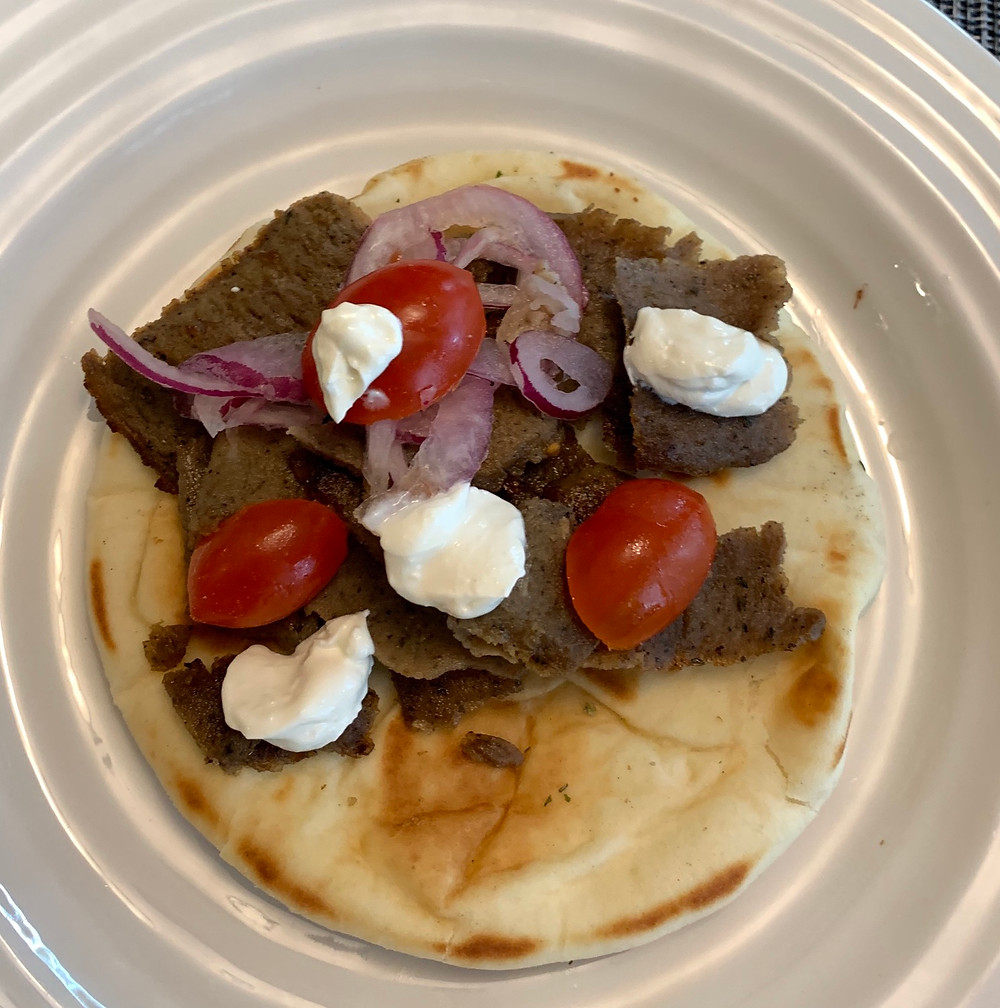 Costco Gyro Pita Greek Style Meal