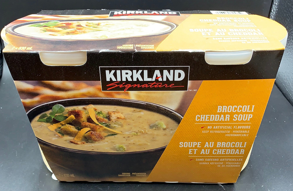 Costco Kirkland Signature Cheddar Broccoli Soup