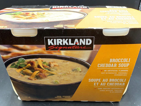 Costco Kirkland Signature Cheddar Broccoli Soup Review