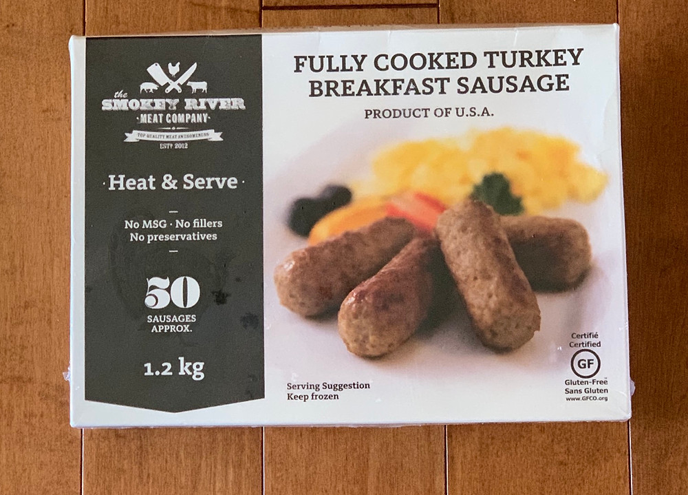 Costco Smokey River Meat Company Turkey Breakfast Sausage