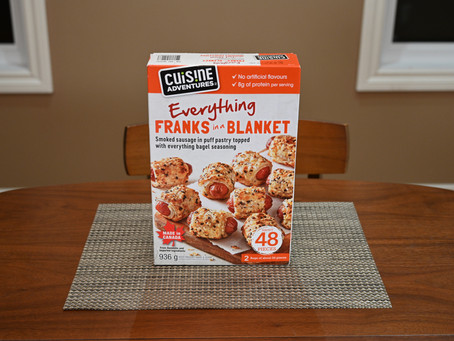 Costco Cuisine Adventures Everything Frank in a Blanket  Review