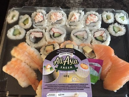 Costco All-Asia Fresh Tokyo Express Assorted Sushi Pack Review