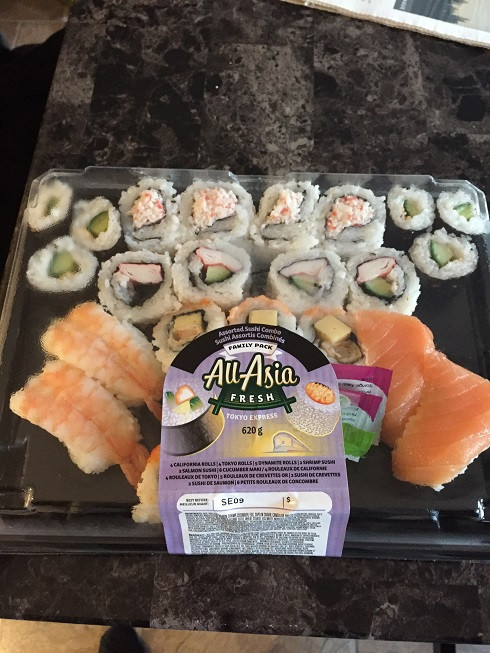 Costco All-Asian Fresh Assorted Sushi