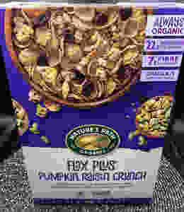 Costco Nature's Path Organic Flax Plus Pumpkin Raisin Crunch