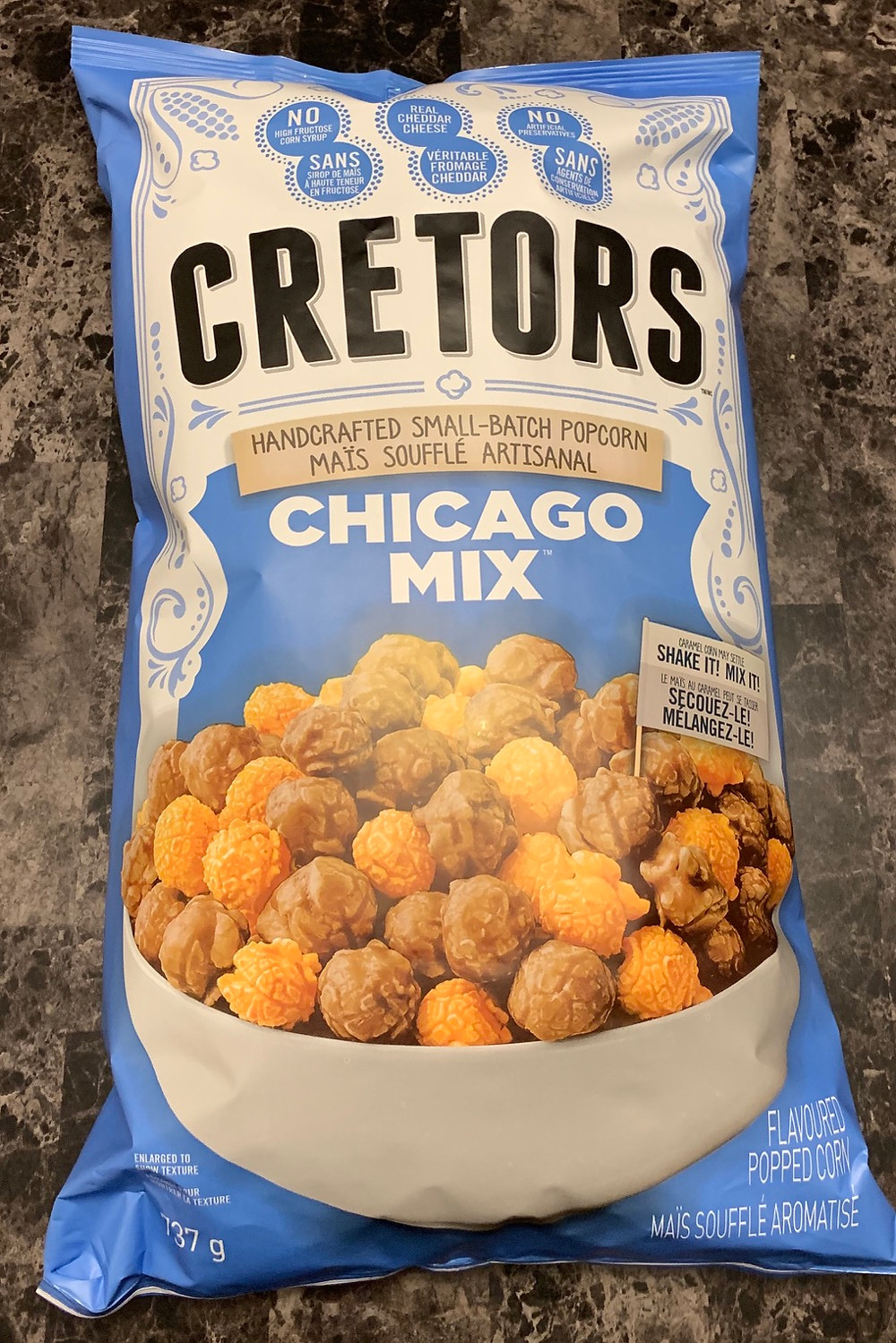 Costco Cretors Chicago Mix Popcorn