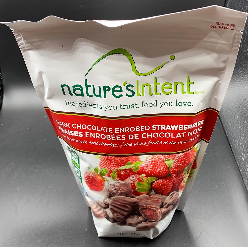 Costco Nature's Intent Dark Chocolate Strawberries