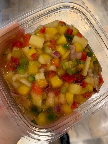 Big Taste Fresh Mango Salsa from Costco