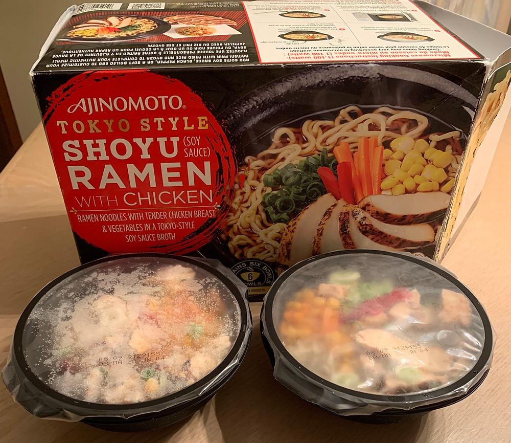 Costco  Ajinomoto Tokyo Style Shoyu Ramen with Chicken