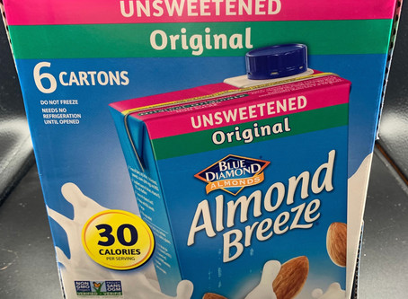Costco Almond Breeze Unsweetened Original Review