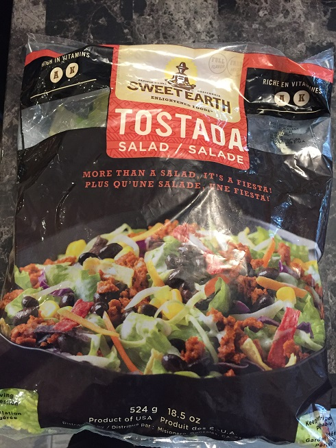 Costco Tostada Salad Kit by Sweet Earth Foods Review