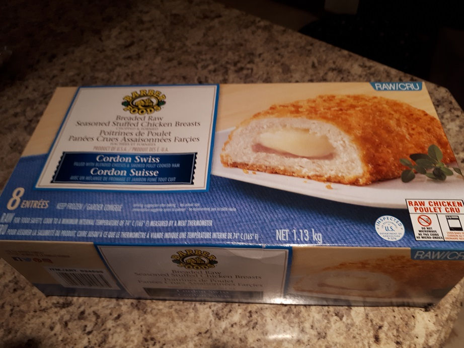Costco Barber Foods Cordon Swiss Seasoned Stuffed Chicken Breasts Review