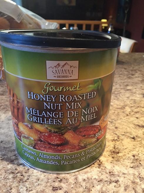 Costco Savanna Orchards Gourment Honey Roasted Nut Mix