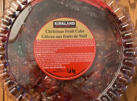 Costco Kirkland Signature Christmas Fruit Cake Review