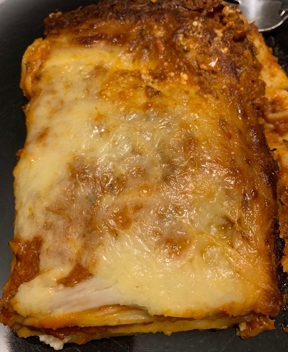 Costco Zinetti Meat Lasagna