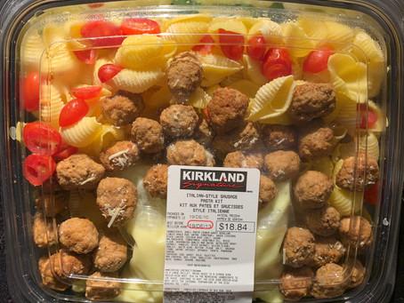 Costco Kirkland Signature Italian Sausage Pasta Kit Review