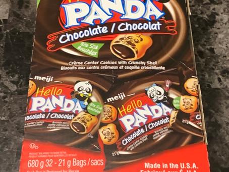 Costco Meiji Hello Panda Chocolate Cookies Review