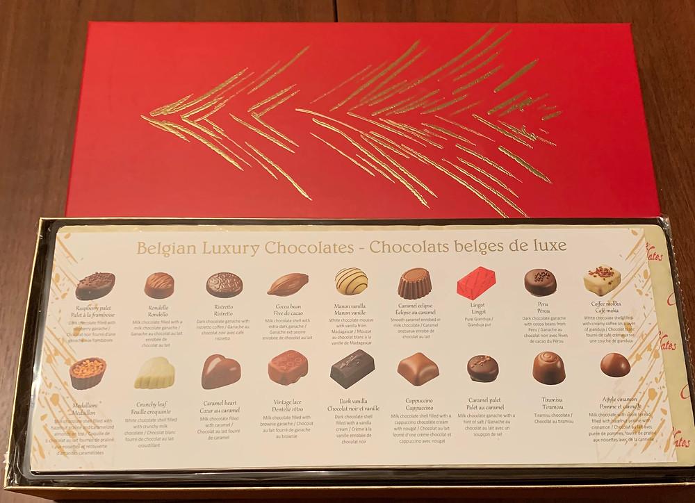 Costco Kirkland Signature Belgian Luxury Chocolates