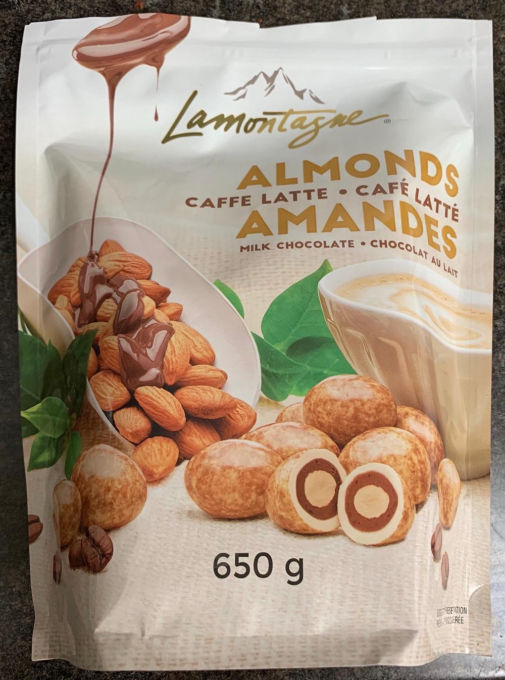 Costco Lamontagne Caffe Latte Almonds