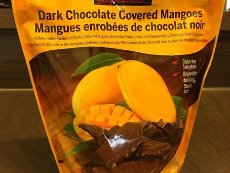 Costco Kirkland Dark Chocolate Mangoes Review