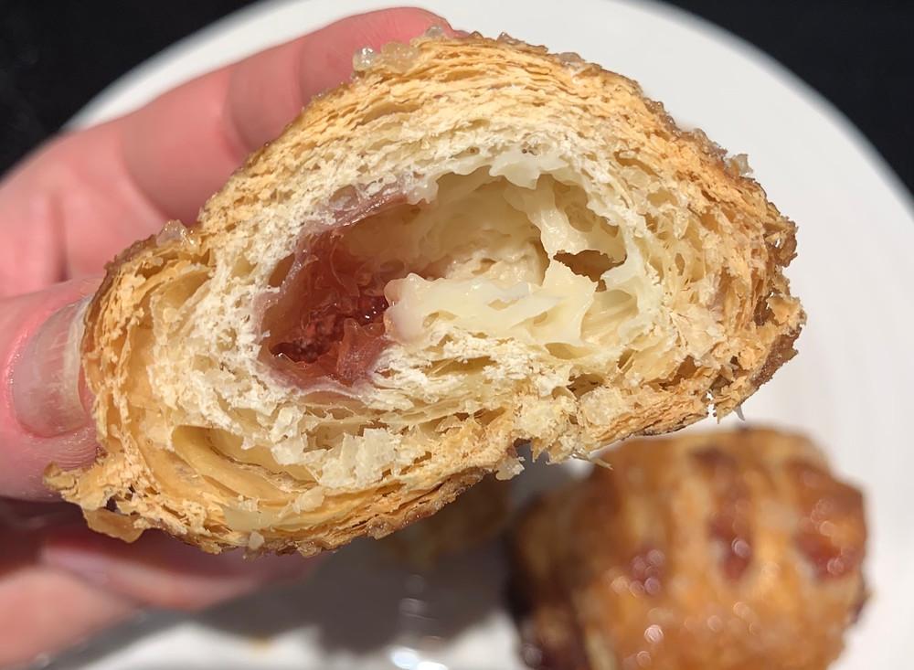 Inside Costco Baketree Strawberry & Cream Cheese Fruit Bites