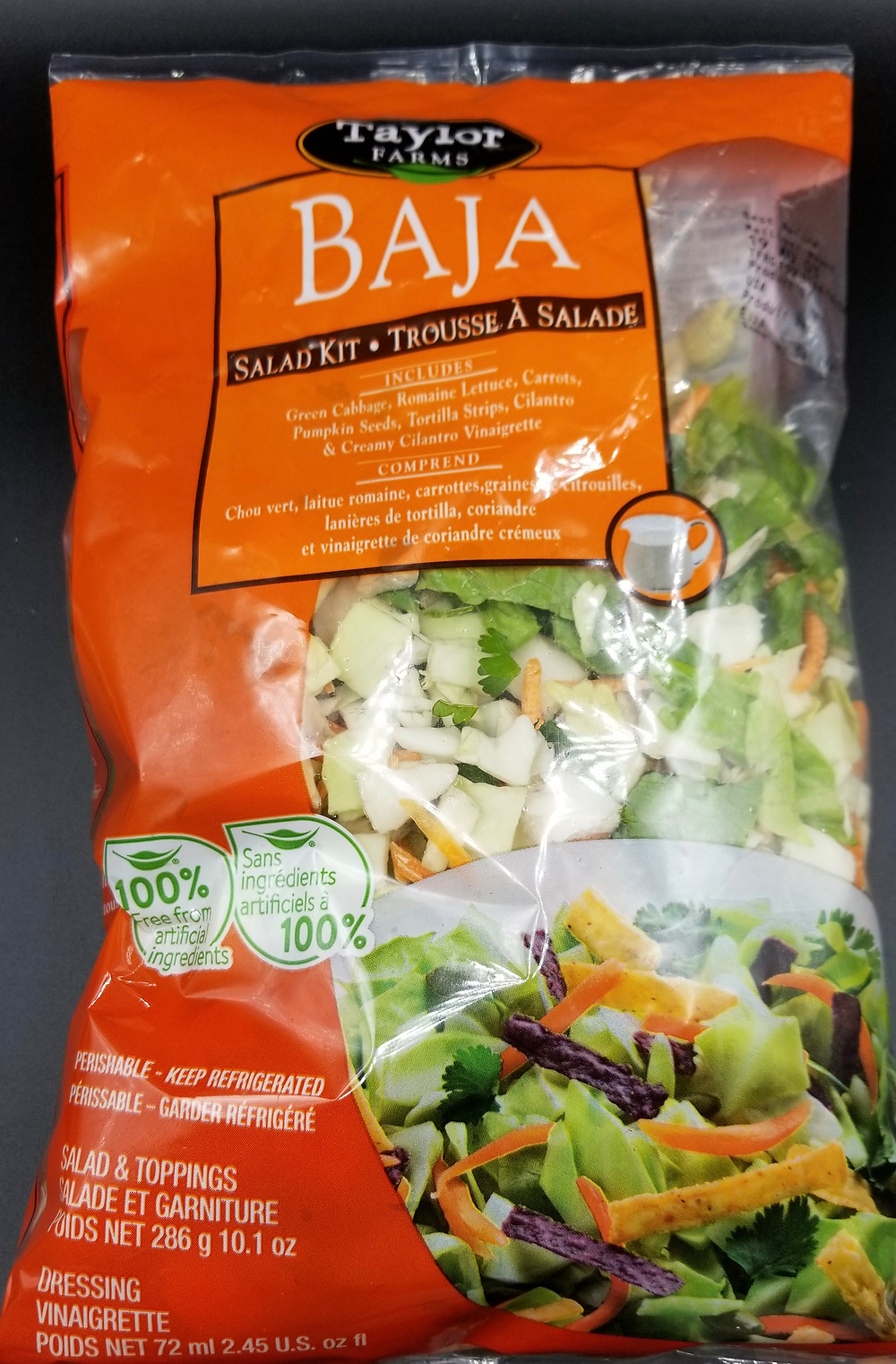 Costco Taylor Farms Baja Chopped Salad Kit