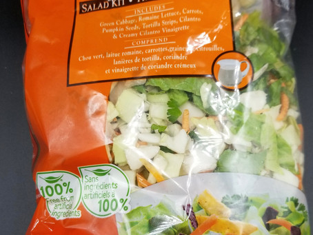 Costco Taylor Farms Baja Chopped Salad Kit Review