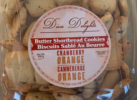 Costco Diva Delights Butter Shortbread Cookies Review