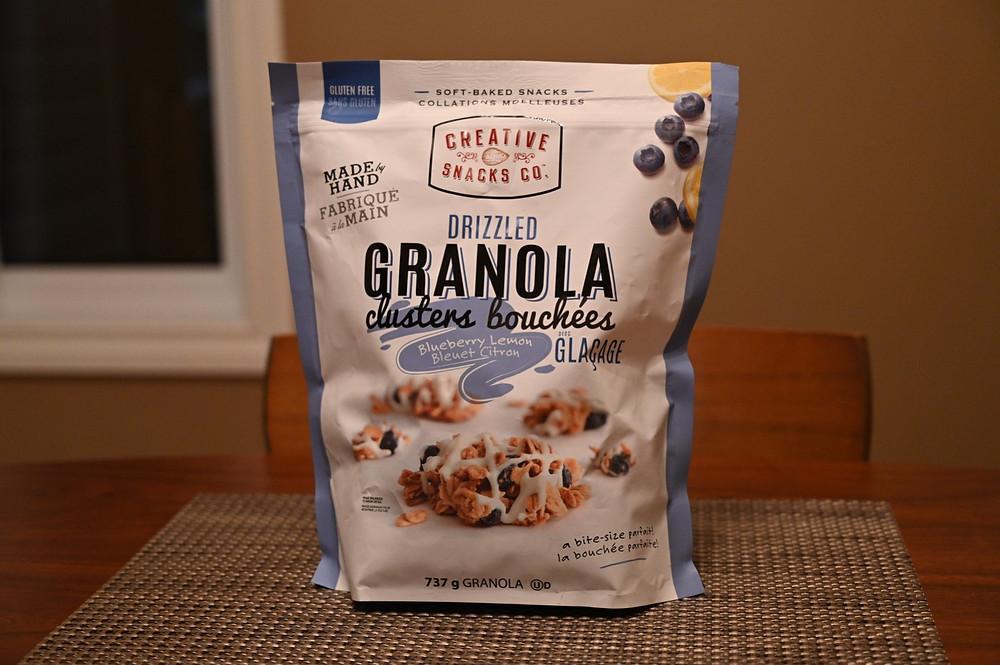 Costco Creative Snacks Co. Drizzled Granola Clusters