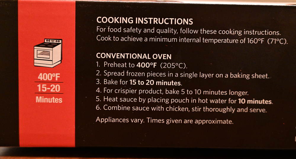 Costco Ready Cuisine Orange Chicken Cooking Instructions