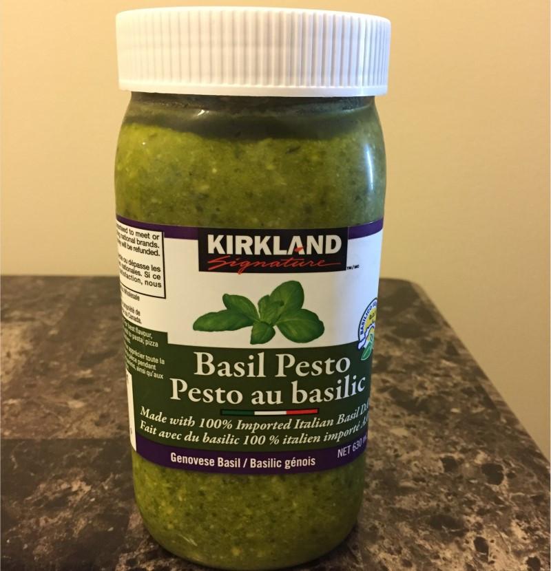Costco Kirkland Signature Basil Pesto