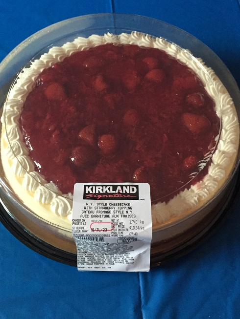Costco Kirkland Signature New York Style Cheesecake With Strawberry Topping Review