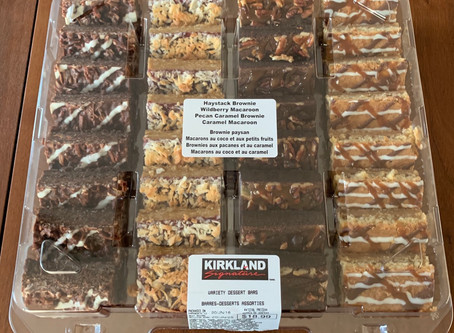 Costco Kirkland Signature Variety Dessert Bars Review