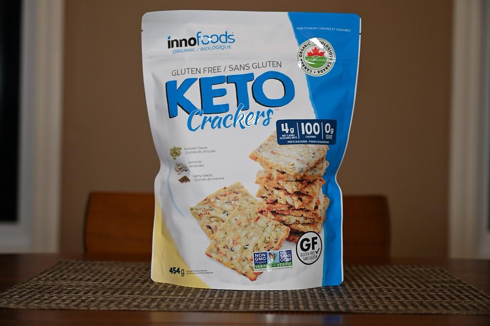 Costco innofoods Keto Crackers