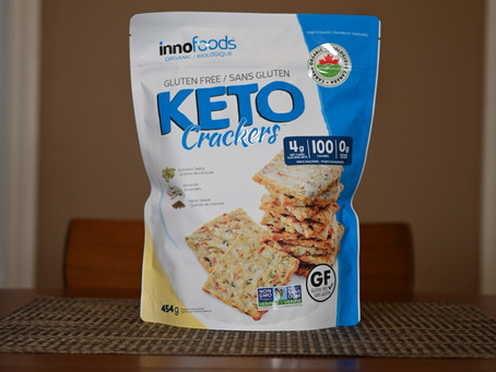 Costco innofoods Keto Crackers Review