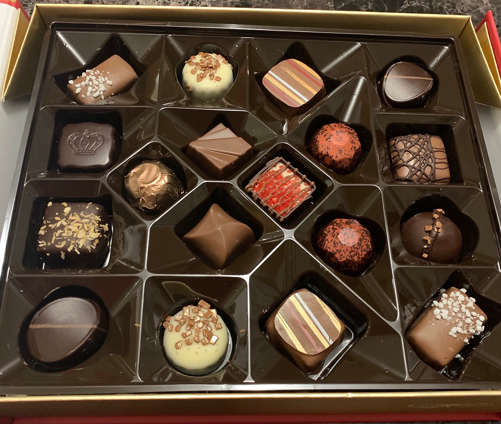 Costco Gudrun Fine Belgian Chocolates