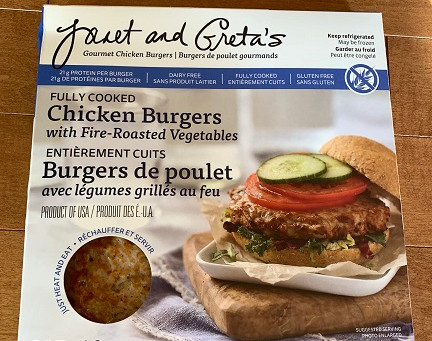 Costco Janet and Greta's Gourment Chicken Burgers Review