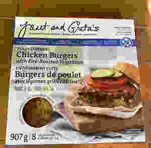 Costco Janet and Greta's Gourmet Chicken Burgers